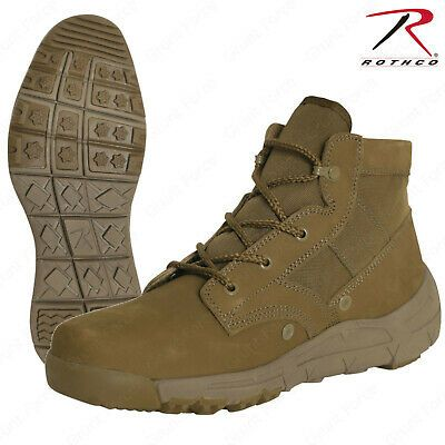 Rothco Ar 670 1 Coyote Brown 6 Inch V Max Lightweight Tactical All Purpose Boot Black Combat Boots Military Style Boots Brown Military Boots