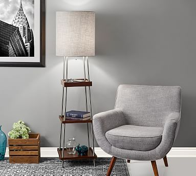 Pottery Barn Medina Floor Lamp Best Home Decorating Ideas