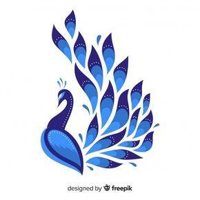 Beautiful peacock design