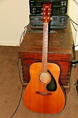 Vintage Yamaha Fg 770s Acoustic Guitar For Repair Or Guitar Yamaha Fg Acoustic Guitar