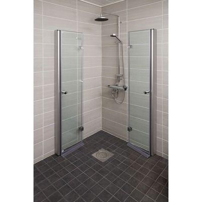 Duschwand Faltbar Inland 80 Cm Klar Links Small Bathroom Small