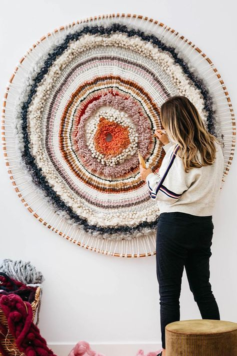 Larger-Than-Life Weavings are a Splendorous Celebration of Color and Texture