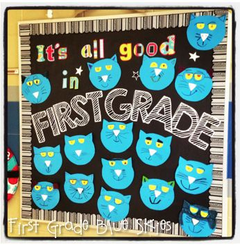 Pete the Cat, Building a Staircase Freebie, and Other Randomness - First Grade Blue Skies