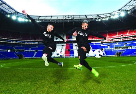 Watch the F2Freestylers recreate a classic EURO moment to go to EURO 2016!