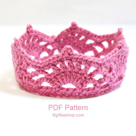Crochet Baby Crown Crochet Crown Pattern Crochet Tiara Patter