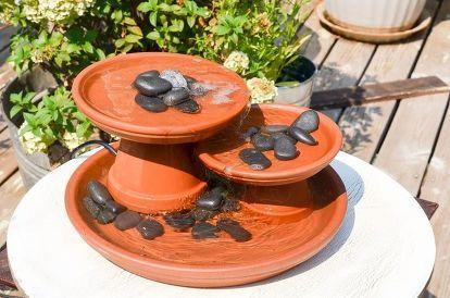 Diy Terrakotta Topf Brunnen Diy Terra Cotta Pots Terracotta