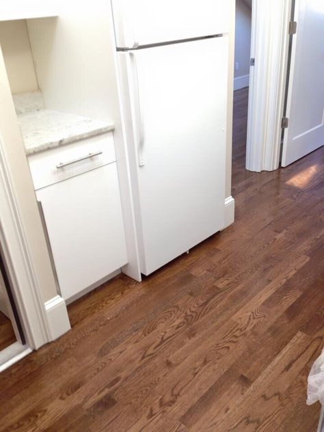 special walnut with white oak flooring