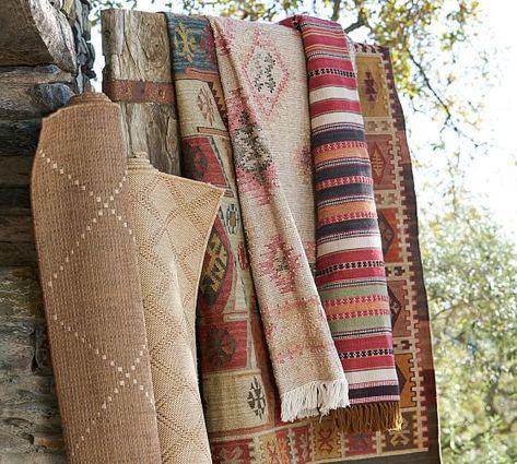 Gianna Kilim Recycled Yarn Outdoor Rug