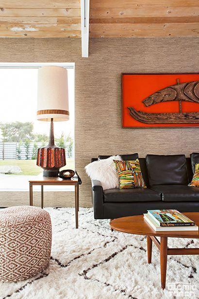 Cozy Midcentury Modern Living Room Modernhomedecorideas Mid Century Modern Living Room Home Decor Styles Mid Century Modern Interiors