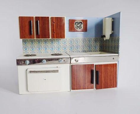 Cuisine Ancienne Jeu D 039 Enfants Vintage Deco Annees 70 Design