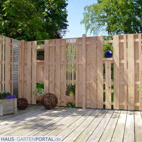 Holz Sichtschutzzaun Typ Viborg Fur Garten Und Terrasse In 2020 Mit Bildern Sichtschutzzaun Sichtschutzwand Garten Zaun Garten