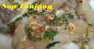 Resep Sop Tunjang Khas Indragiri Hulu Yang Lezat Gurih Ala Rumahan Resep Makarel Resep Makanan Resep