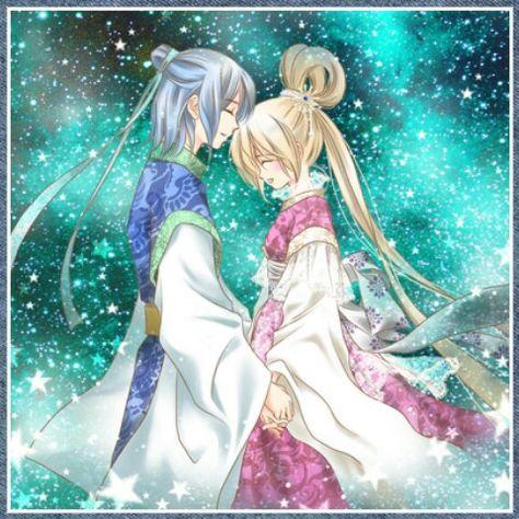 """ A never ending Lovestory ""            (*^_^*) * Hikoboshi * Orihime * ~ Tanabata 07 July ~"