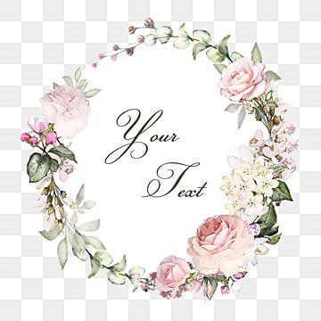 Flores Em Aquarela Clipart Aquarela Aguarela Flores Imagem Png E Psd Para Download Gratuito Floral Wreath Watercolor Painted Floral Wreath Flower Frame