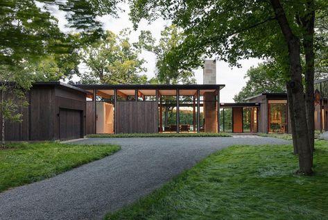 Woodland House | Architecture | Pinterest | Maisons de jardin ...