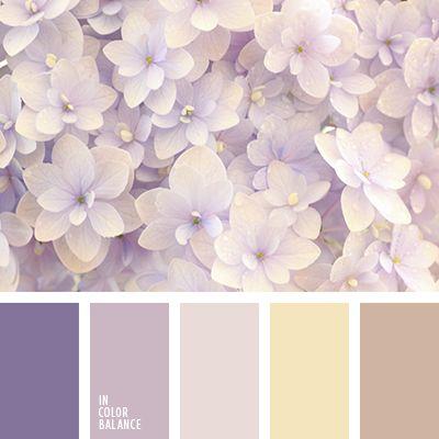 Бежево-сиреневый цвет