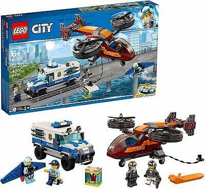 Details About Lego 60209 City Sky Police Diamond Heist Brand New Sealed Free Delivery In 2020 Lego City Lego City Police City Sky