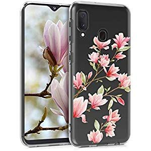 Kwmobile Samsung Galaxy A20e Hulle Handyhulle Fur Samsung Galaxy A20e Handy Case In Rosa Weiss Transparent Elektronik Foto Zu Case Clear Cases Phone Cases