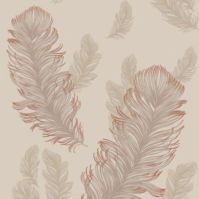 Imagine Precious Metals Sirius Wallpaper Bed Bath Beyond Feather Wallpaper Wallpaper Baby Wall Decals