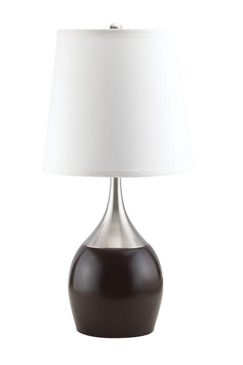4 Acme Furniture Willow White Table Lamps