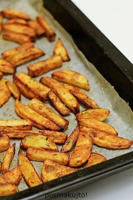 Frytki Z Piekarnika Posmakujto Recipes Cooking Food