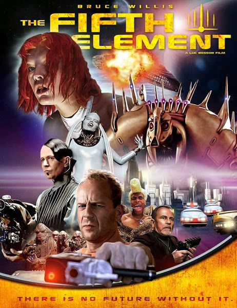 The Fifth Element 1997 Dual Audio Hindi 720p Bluray Esubs