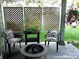 Image result for first floor apartment patio privacy | Diy ...