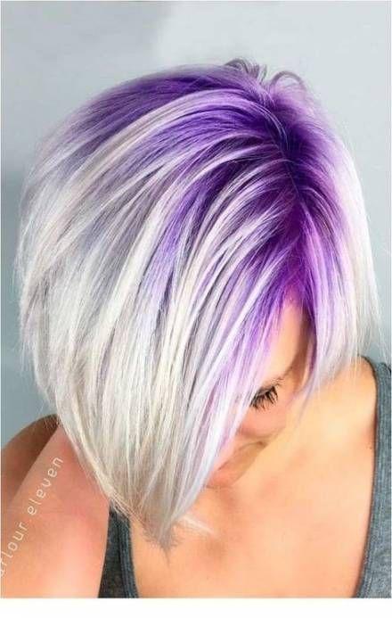 55 Ideas Hair Short Color Funky For 2019 Pastel Purple Hair Hair Styles Short Hair Color