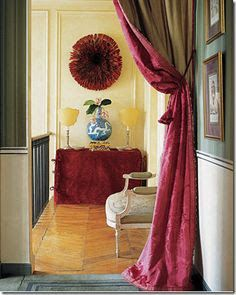 Decorating With Portieres........Drapes For Your Doorways
