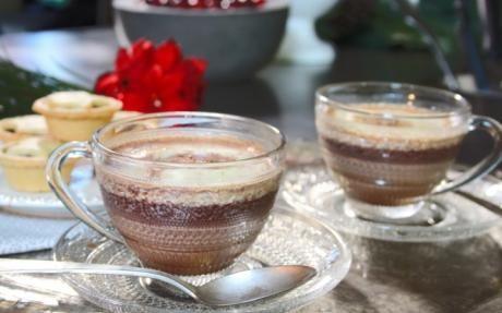 Cinnamon and Vanilla Pod Hot Chocolate