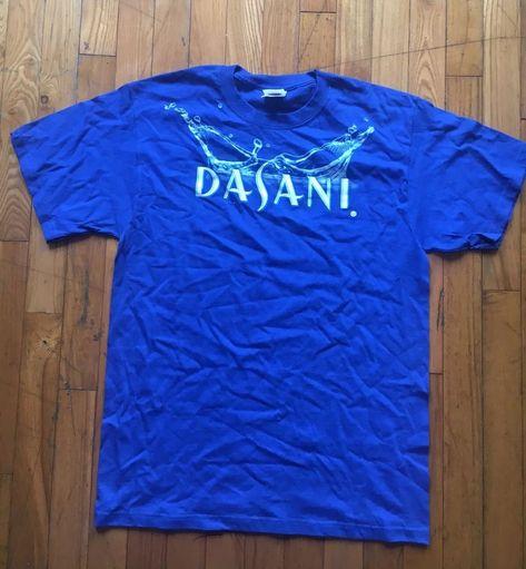 Dasani Water Shirt Blue Major Drip Coca Cola 2000s Vending Machine Yung Lean   fashion   7dfdc68a3b82