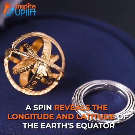 Handmade Sphere Spinner Ring 😍