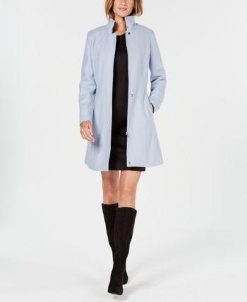 Calvin Klein Walker Coat Blue S