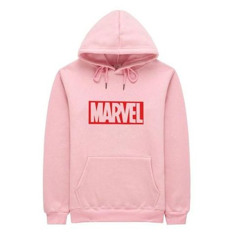 2018 New Brand Marvel men Women Hoodies Sweatshirt Men Pink