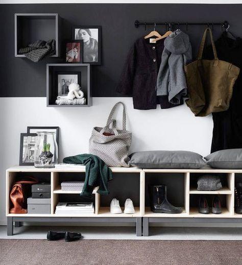 Comment Amenager Son Entree Idee Deco Maison Rangement Entree