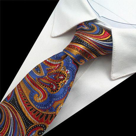 Eder Tie // Magenta + White   Tie men, Lynn, Silk ties