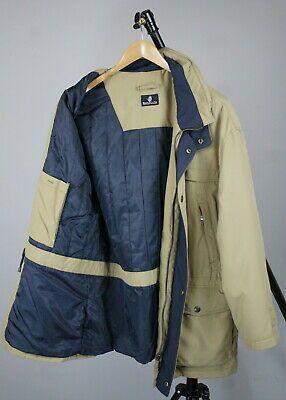 BARACUTA Mens MEDIUM Polyester Zipped Below Hipbone Jacket