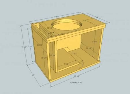 Image Result For Diy Subwoofer Box Design For Jl W7 Subwoofer Box Design Subwoofer Box Speaker Box Design