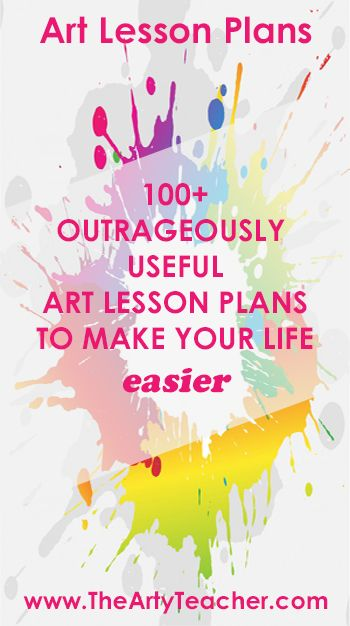 Art Lesson Plans for Art Teachers. Art lesson ideas to keep your teaching fresh and exciting. Art projects and sub lessons too!