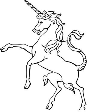 Ausmalbild Grosses Einhorn Zum Kostenlosen Ausdrucken Und Ausmalen Fur Kinder Ausmalbilder Malvorl Unicorn Coloring Pages Unicorn Drawing Animal Drawings