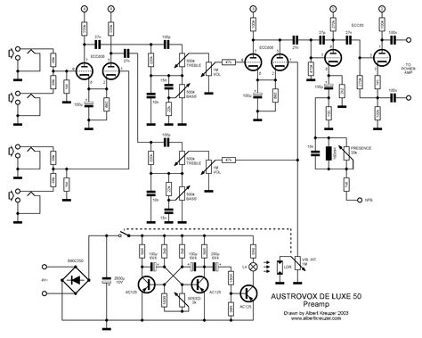 5watt 6bq5 Tube Schematics
