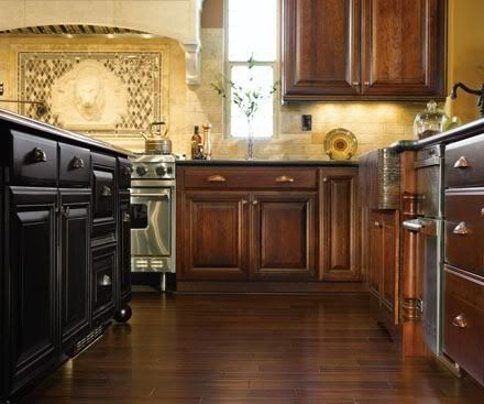 I Need Help Am Building A New Home And To Decide On Flooring Color For The Entire House We Are Doing Cherry Cabinets But LOVE Dark Walnu