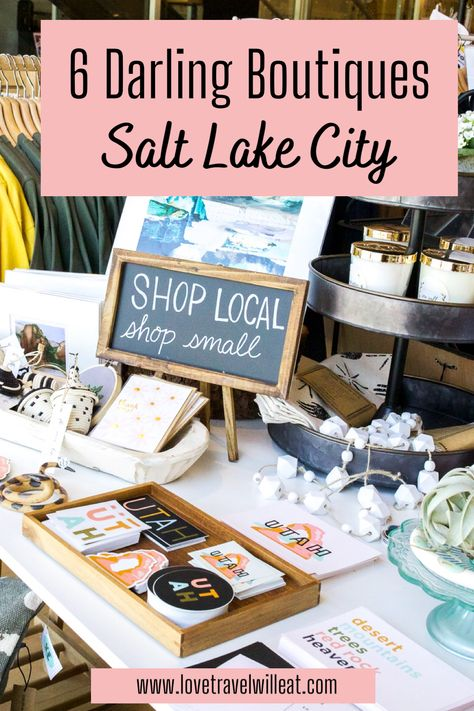 6 Darling Boutiques in Salt Lake City