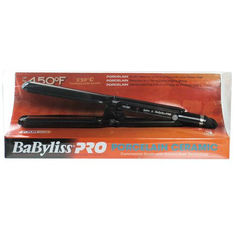 Babyliss Pro Porcelain Plate Ceramic Flat Iron Review | hair