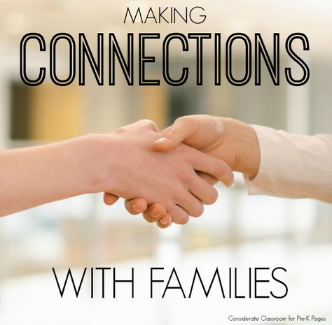 Making Connections with Families