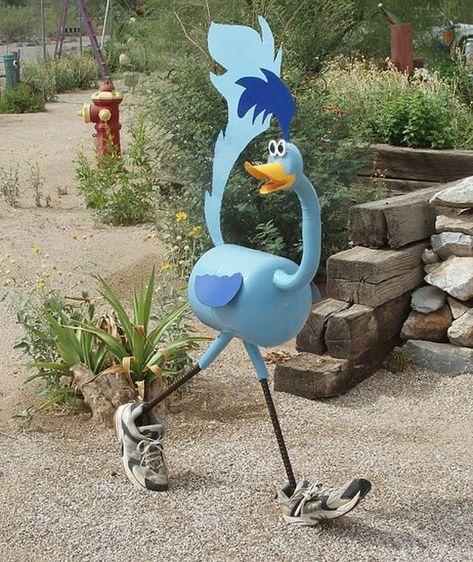 Bichinhos Com Garrafas Plasticas Para Jardim Yard Art Lixo De