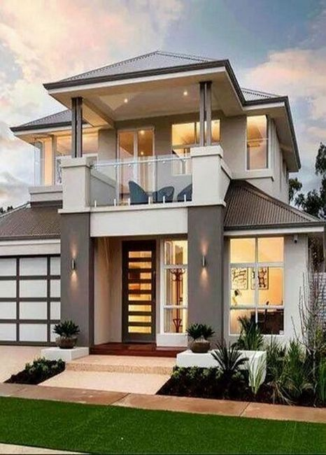 34 Samples Of Modern Houses Most Popular Exterior Design Exterior Renovation Ideas That Are Minimalist House Design House Front Design Modern House Design