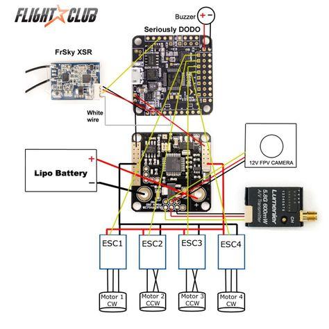 Flip32 F4 (Revo Pin Header edition) V2 on