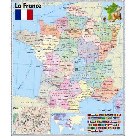 Harta Frantei Franța