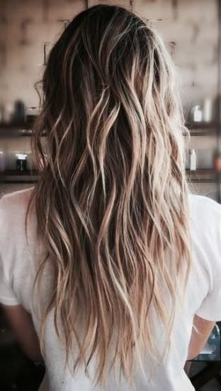 Trendy Hair Beach Blonde Haircuts Ideas Hair Styles Textured Haircut Long Hair Styles